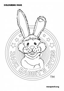 Jack Rabbit Badge