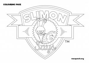 Slimon Says Badge