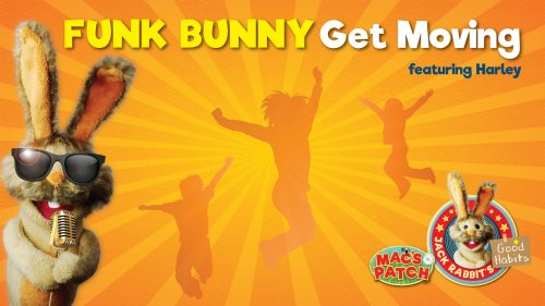 Funk Bunny – Get Moving Lyric Video - Teaser Image